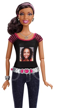 Barbie Photo Fashion Doll Review camera shaped like a doll